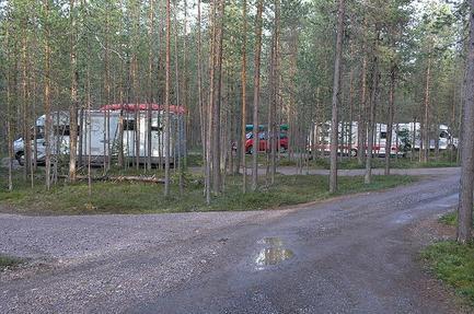 Oulanka Nationalpark Campsite