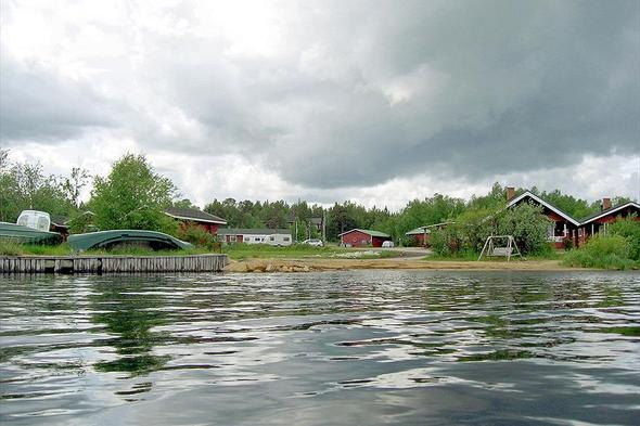 Leirintäalue Holiday Village Inari