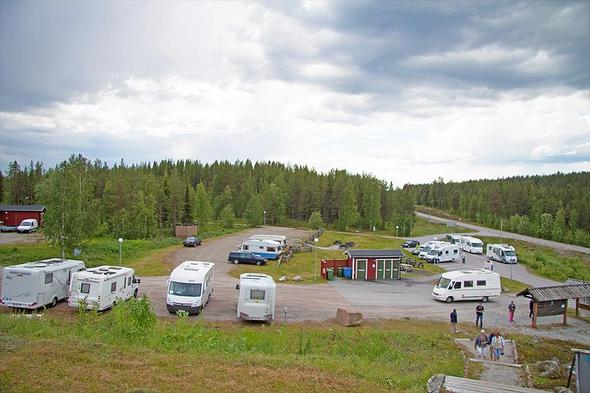 Camping Polcirkelns Fiskecamp