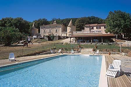 Campsite Château de l'Eouvière