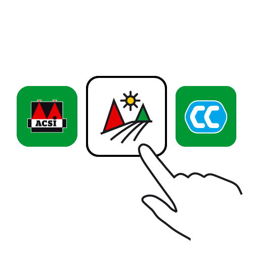 Select the ACSI Great Little Campsites app